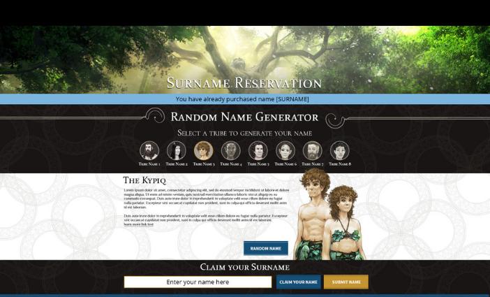 Surname Reservation