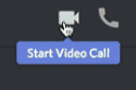 Discord Video Call Button
