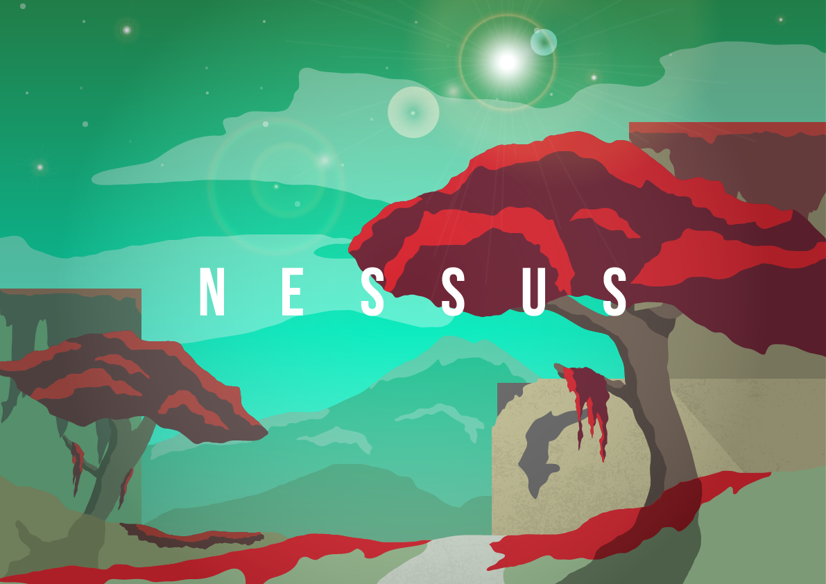 Nessus - Vector Drawing