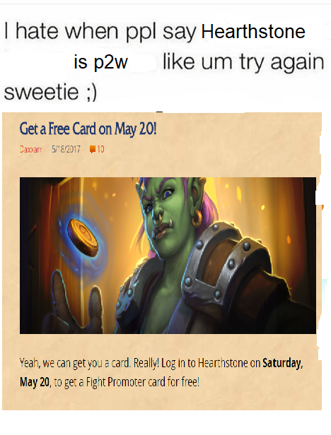 I hate when people say HS is p2w