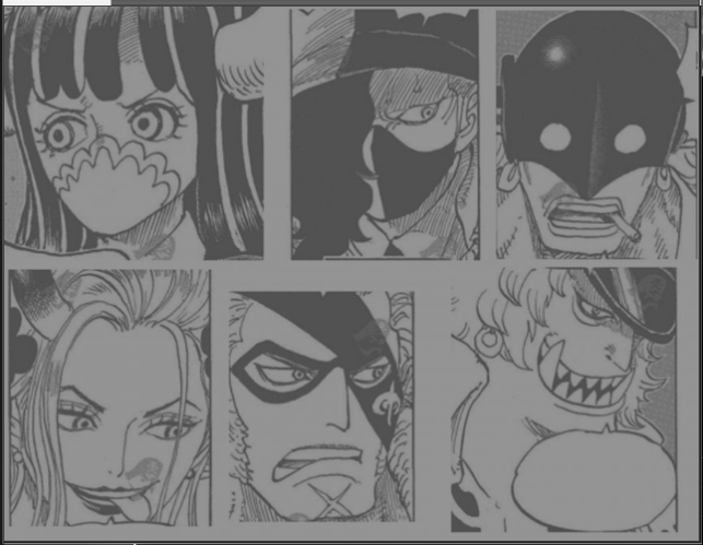 One Piece Spoilers 978 Faces