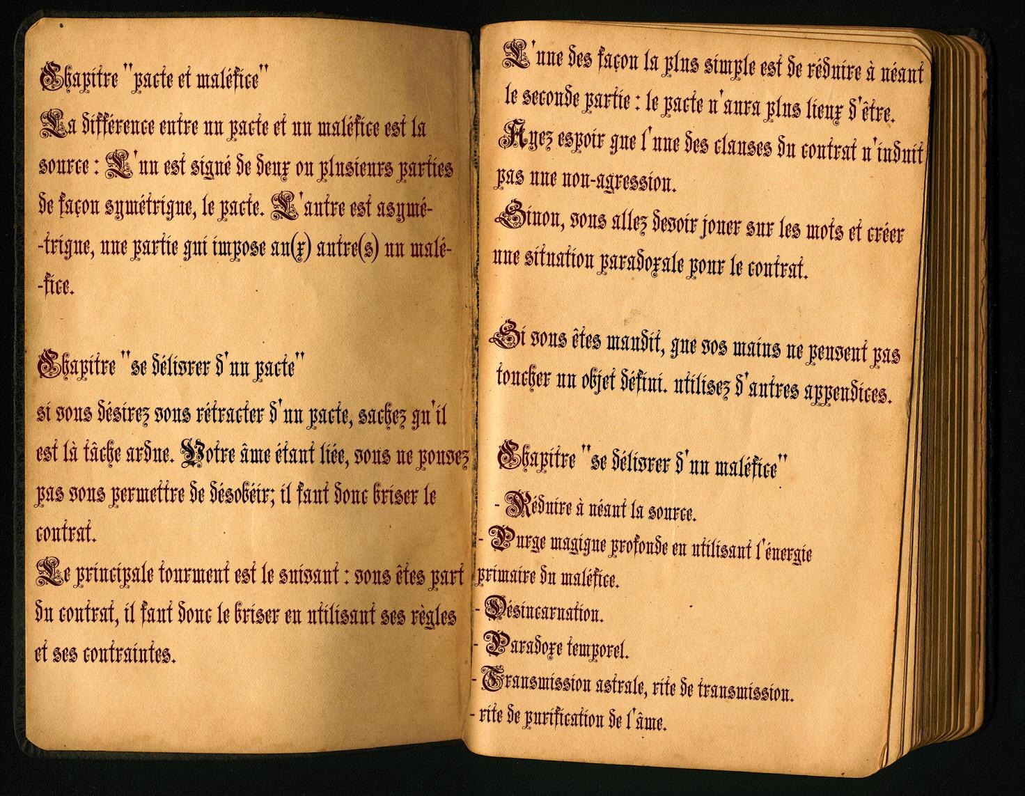 Etudes et recherches liées à l'affaire Codex_Maledictum
