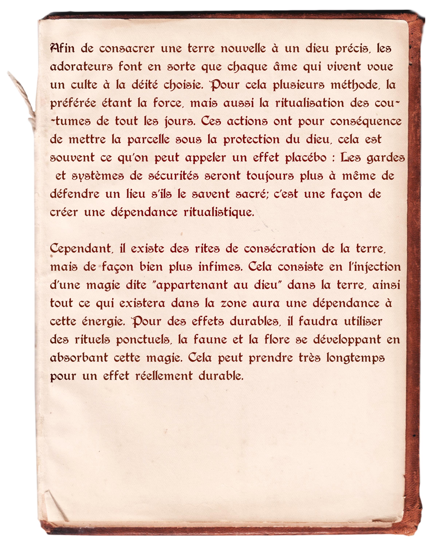 Etudes et recherches liées à l'affaire Conquete_du_divin