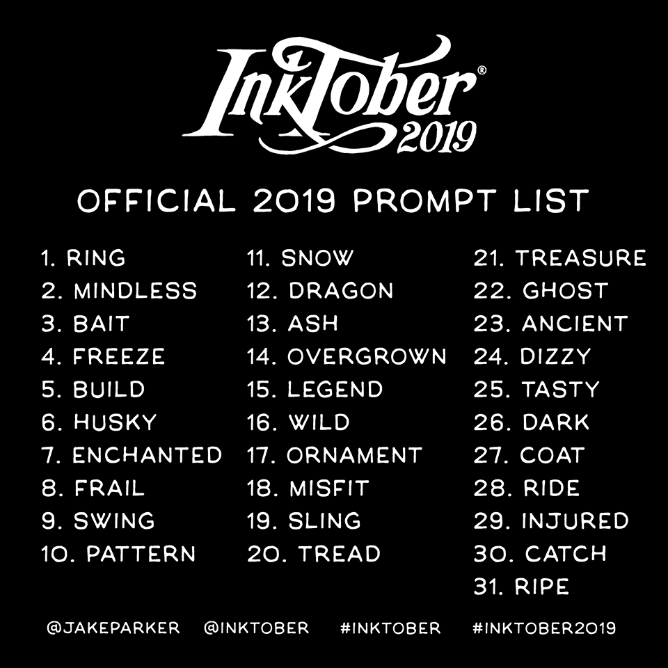 [EVENT] Inktober 2019 — RPGDBZ edition. 69745810_1593683534100999_8801057068099305472_n