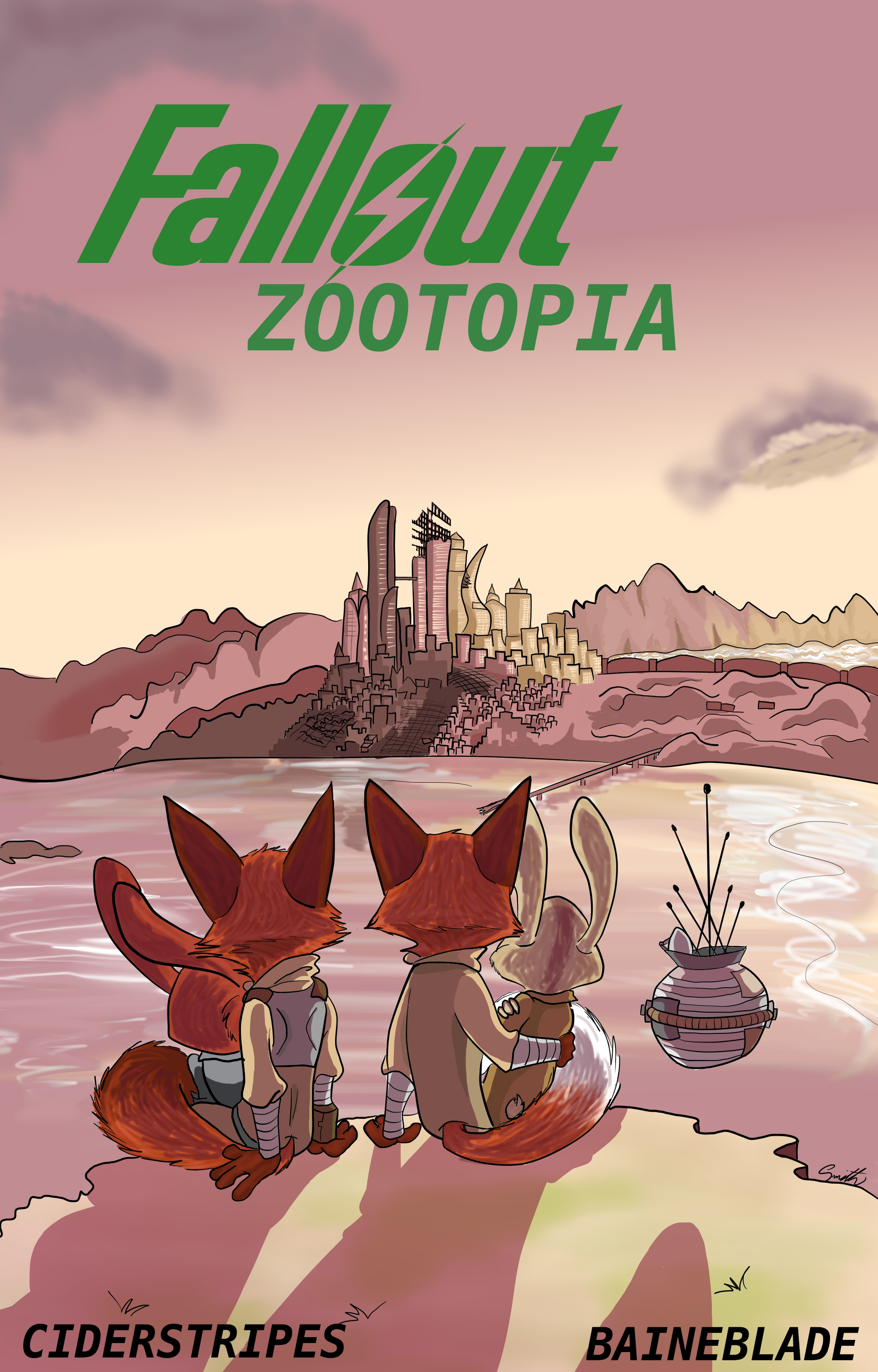 Fallout: Zootopia gets an audiobook!