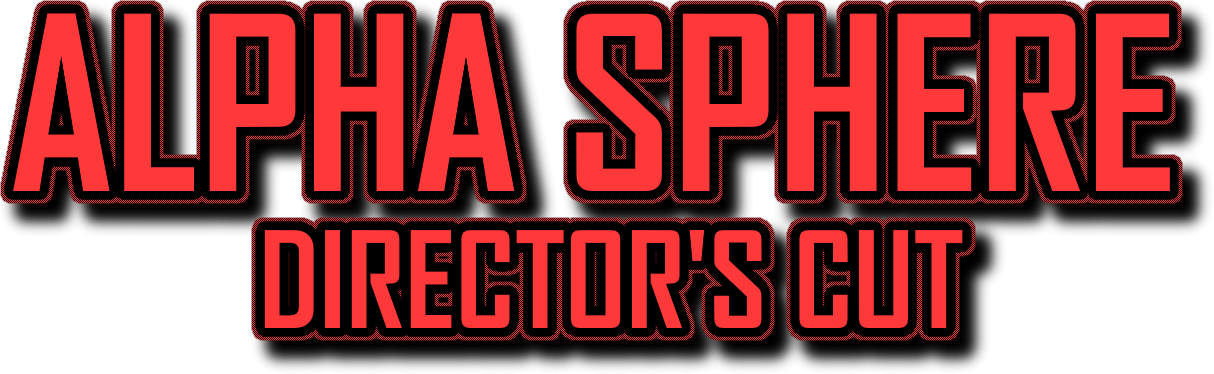 ALPHA SPHERE: Director's Cut Logo