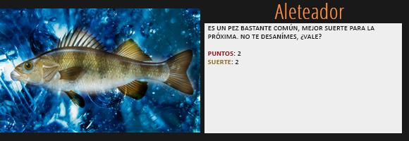 [Los juegos del pez] Botín de Noa Nightrose. Aleteador
