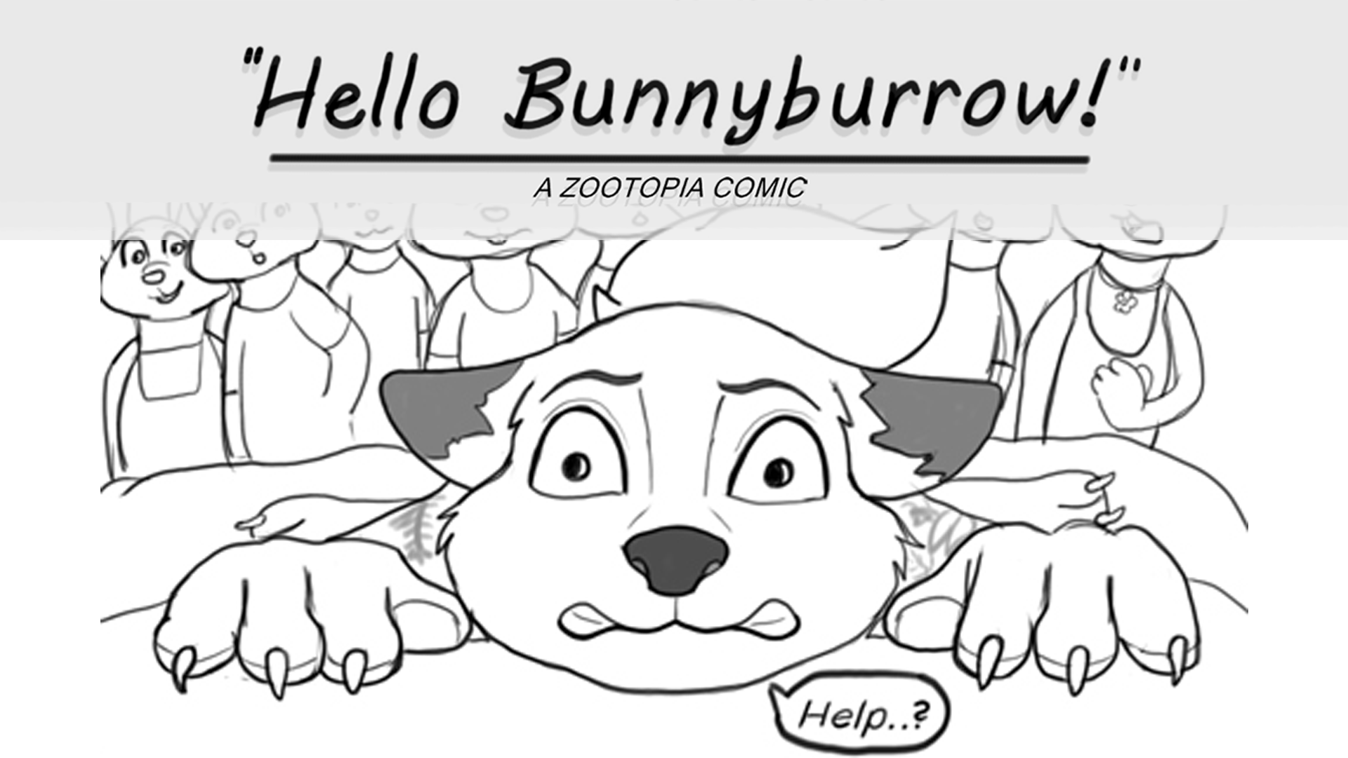 "Comic Dub: ""Hello Bunnyburrow!"", performed by the Zootopia Dubbing Channel!"