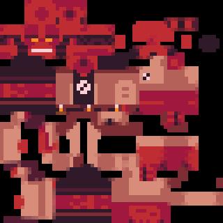 Comic Book Hellboy Minecraft Skin