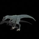 Triceratops y teropodo generico Teropodo_generico