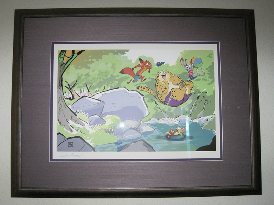 ZNN Reviews: The rare Byron Howard Serigraph!
