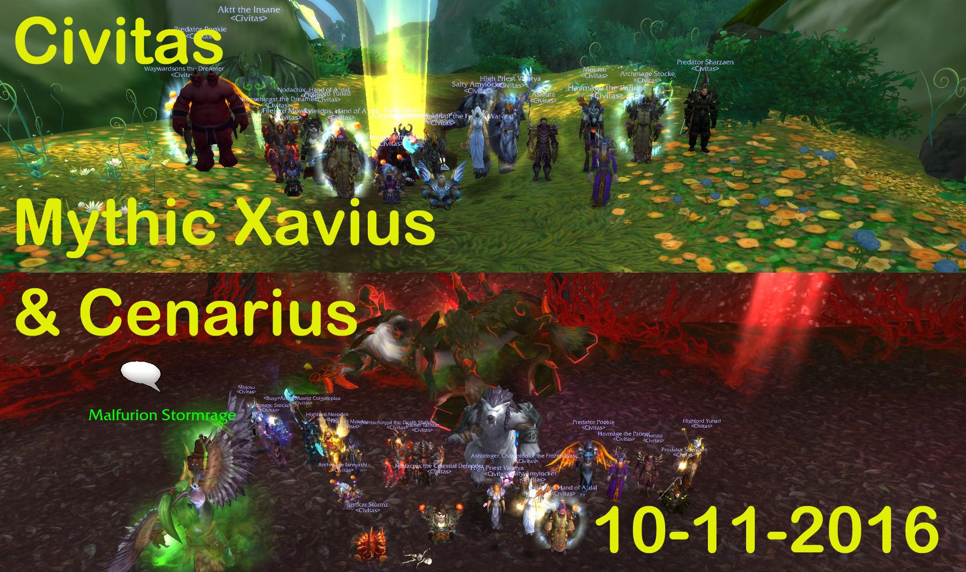 Cenarius & Xavius
