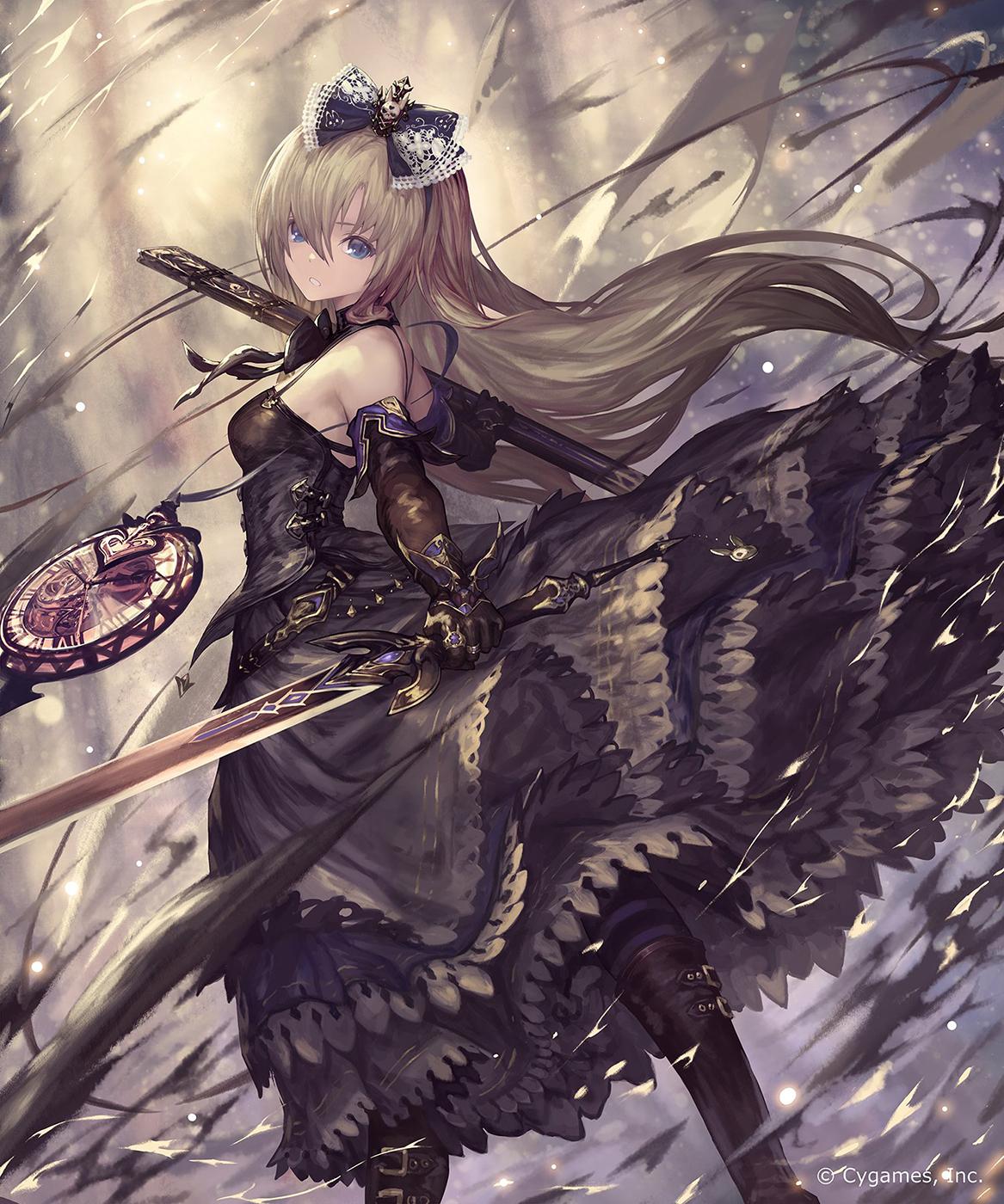Alice Shingeki no Bahamut (With images) Gothic anime