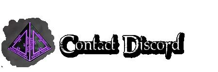 Contact : Lien Discord Contactdiscord