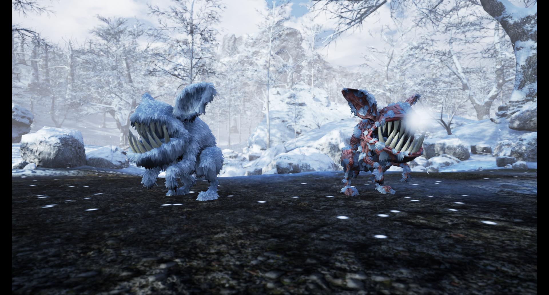 Monstruo en invierno