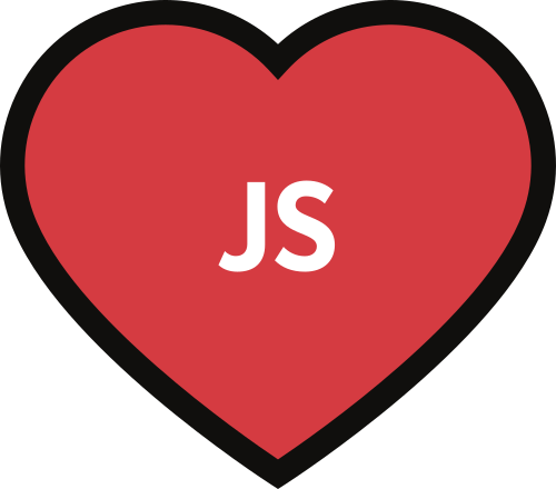 Frontend Developer Love logo