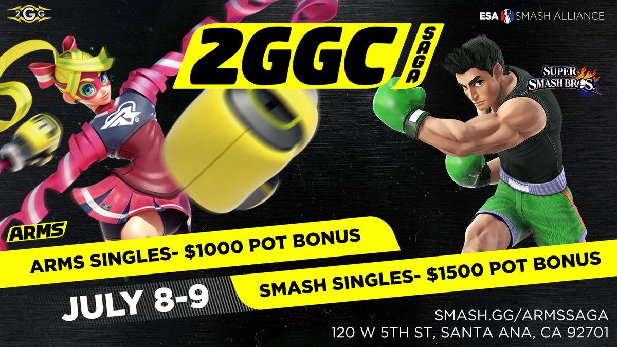 Smash Tour: 2GGC Arms Saga, Genesis: RED, and more! - n3rdabl3