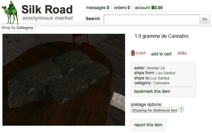 Sinister page in the Slik Road ((deepweb)) Silk2
