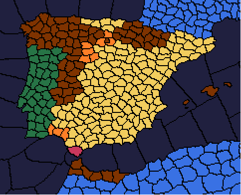 Guerre civile espagnole [Victoire Républicaine] Tour_4_Espagne