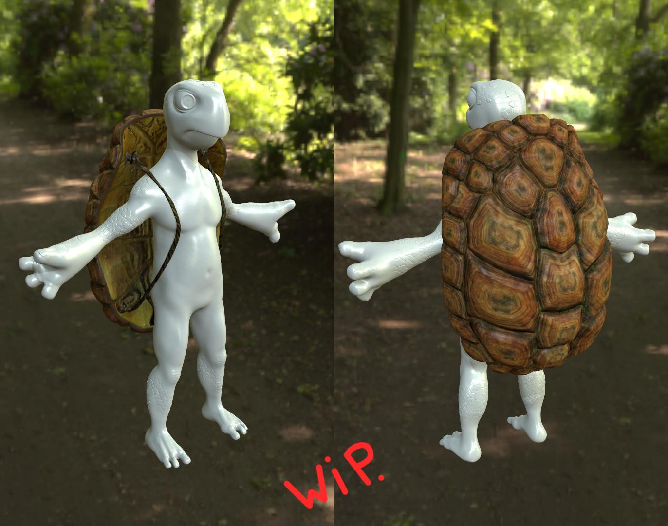 Image W.I.P du personnage principal