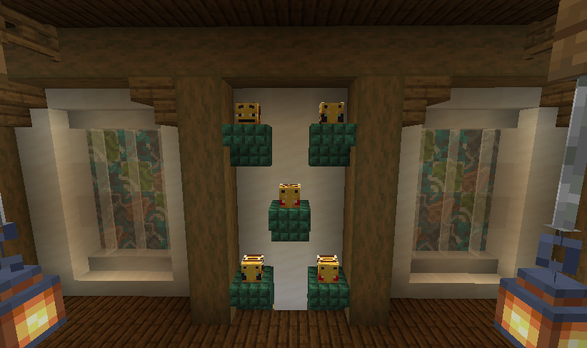 <p>&Dogcraft#0 4 New heads have found there way into the loot table! Time to start collecting!</p>