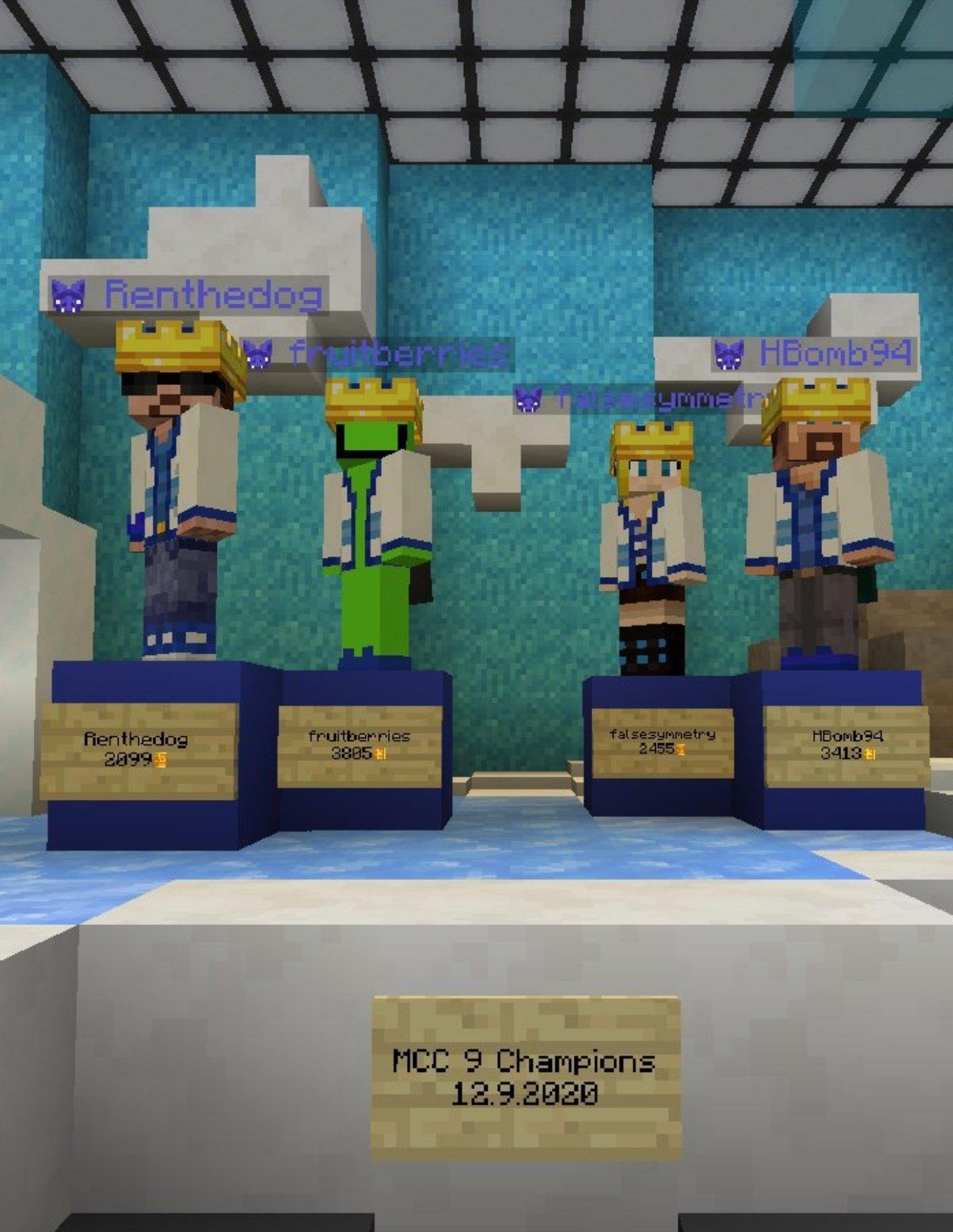 <p>@everyone WE DID IT CYBERDOGS!!! WE FREAKING WON!!!!! :D:D:D:D:D:D:D:D:D RD</p>