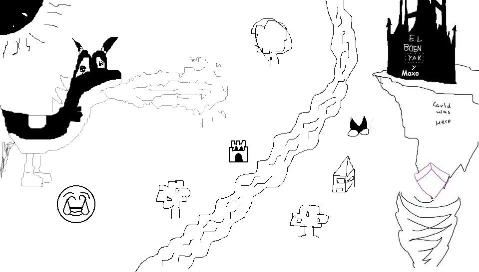 Dibujo colaborativo 2: Pixel's Quest Asdf