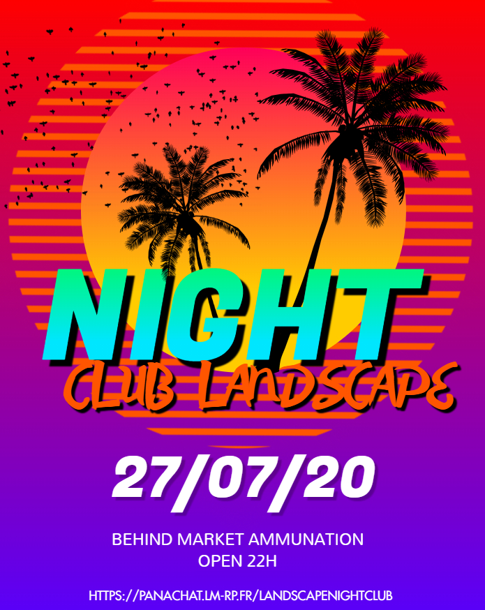 (FLYER) Landscape Night Club, ce soir 22h FLYER
