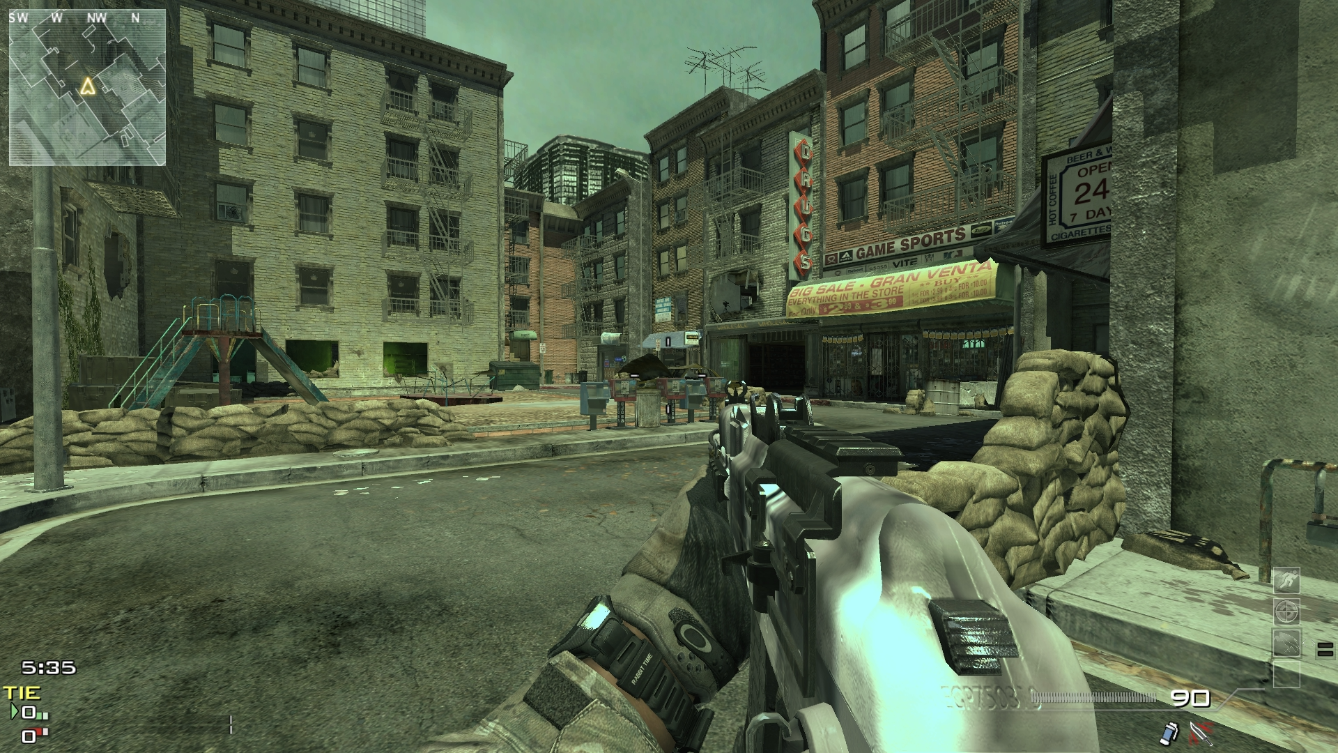 Skidrow and AK74u in MW3
