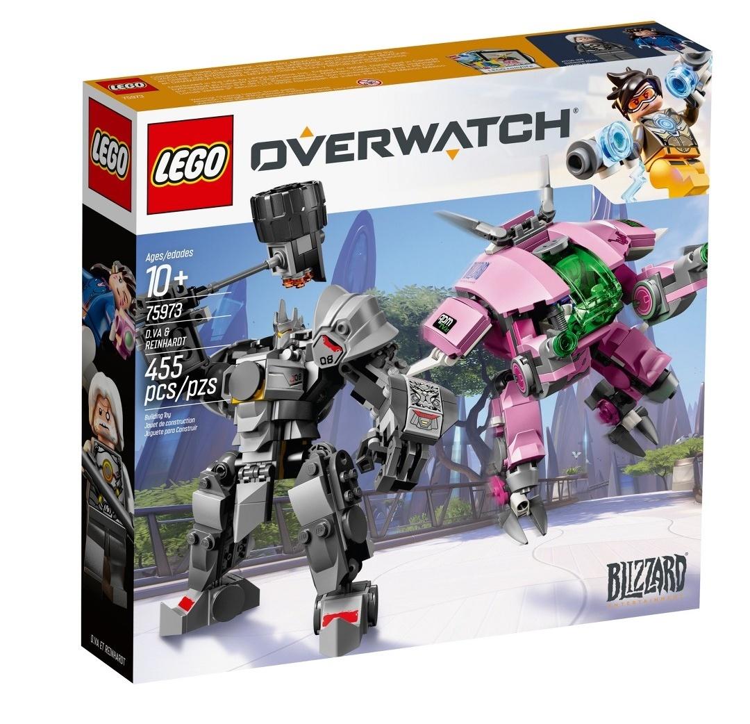 Lego Overwatch mech