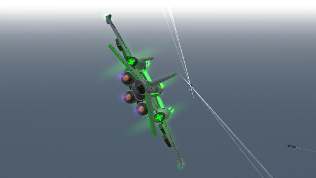 Cross missile shot 1