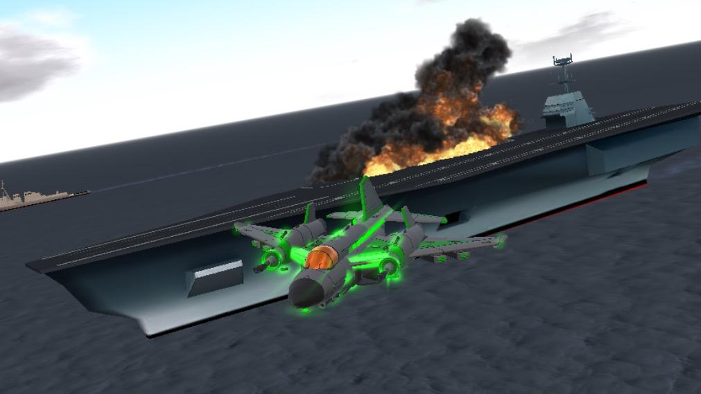 Carrier fleet attack