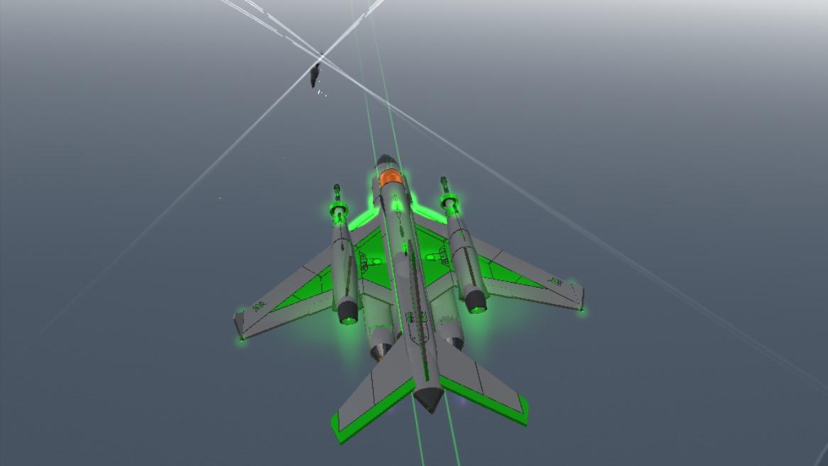 Cross missile shot 2