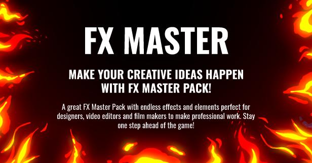 FX Master - Cartoon Action Elements - 2