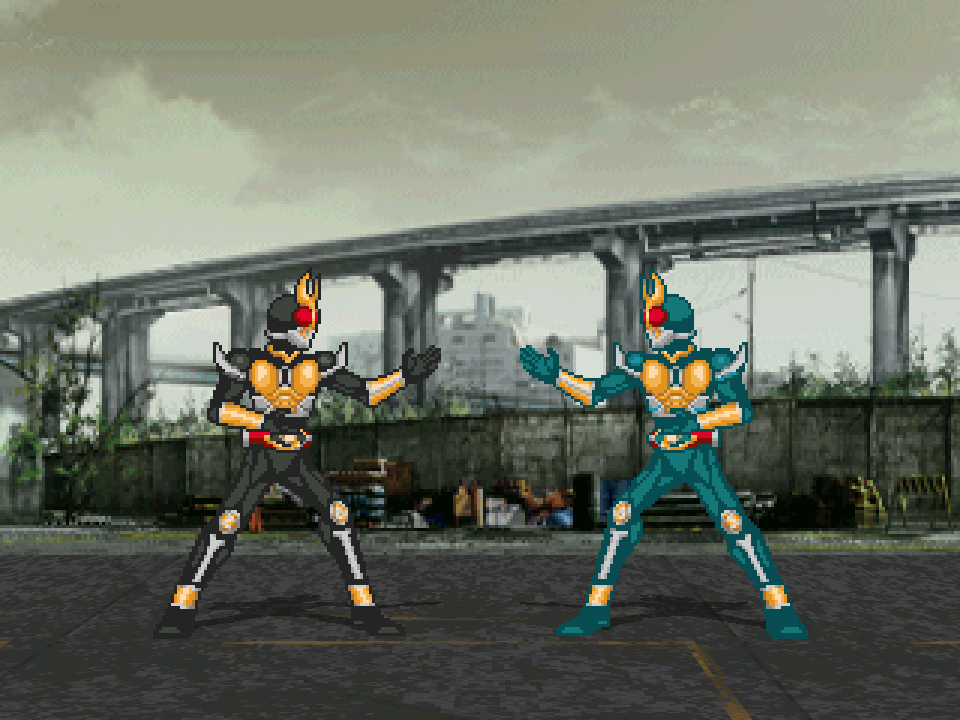 KamenRider Agito's Stages 1.0/1.1 Mugen005