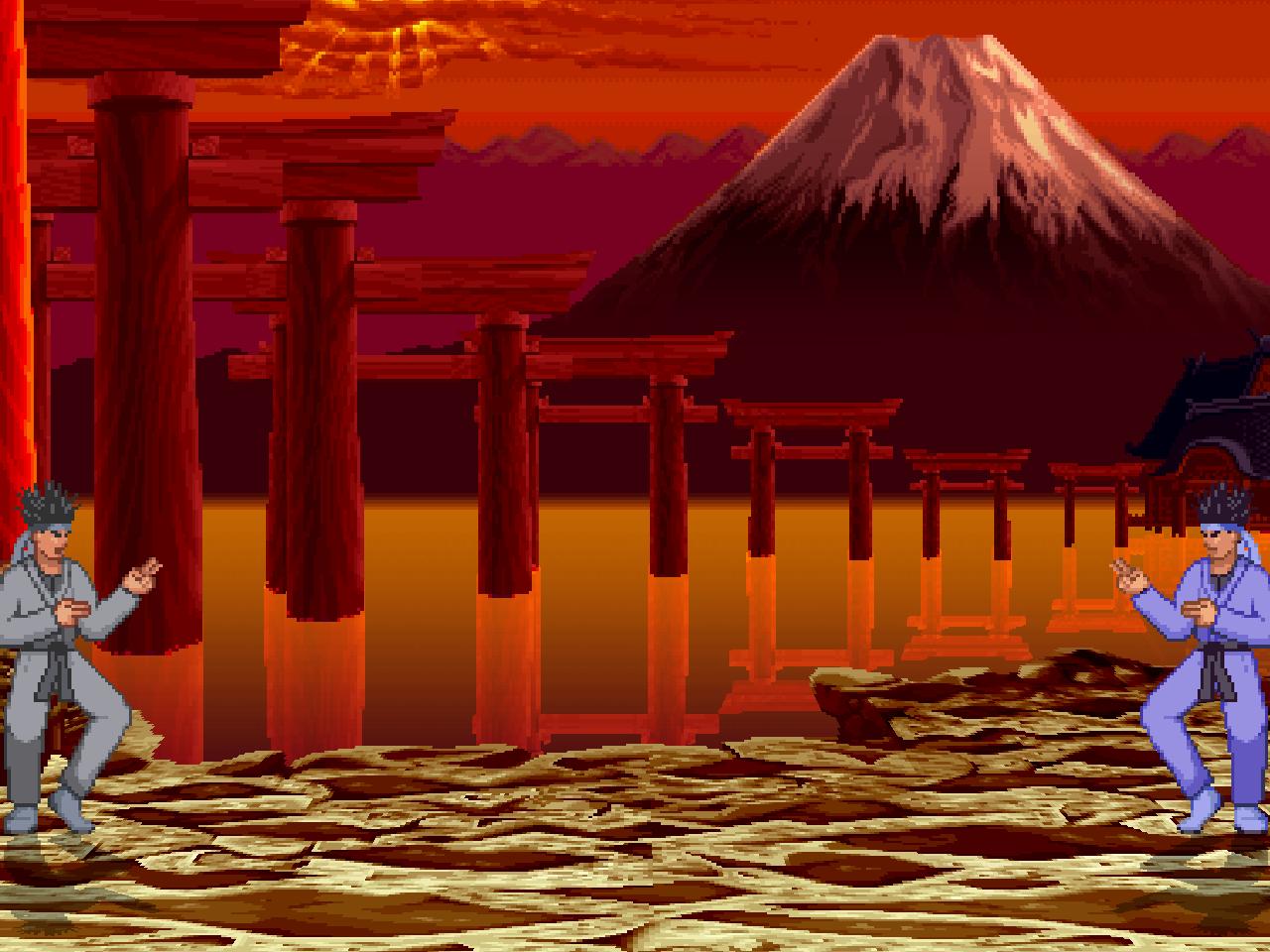 GanryuIsland2014 (Haohmaru's Stage) Shiyo's Style Mugen001