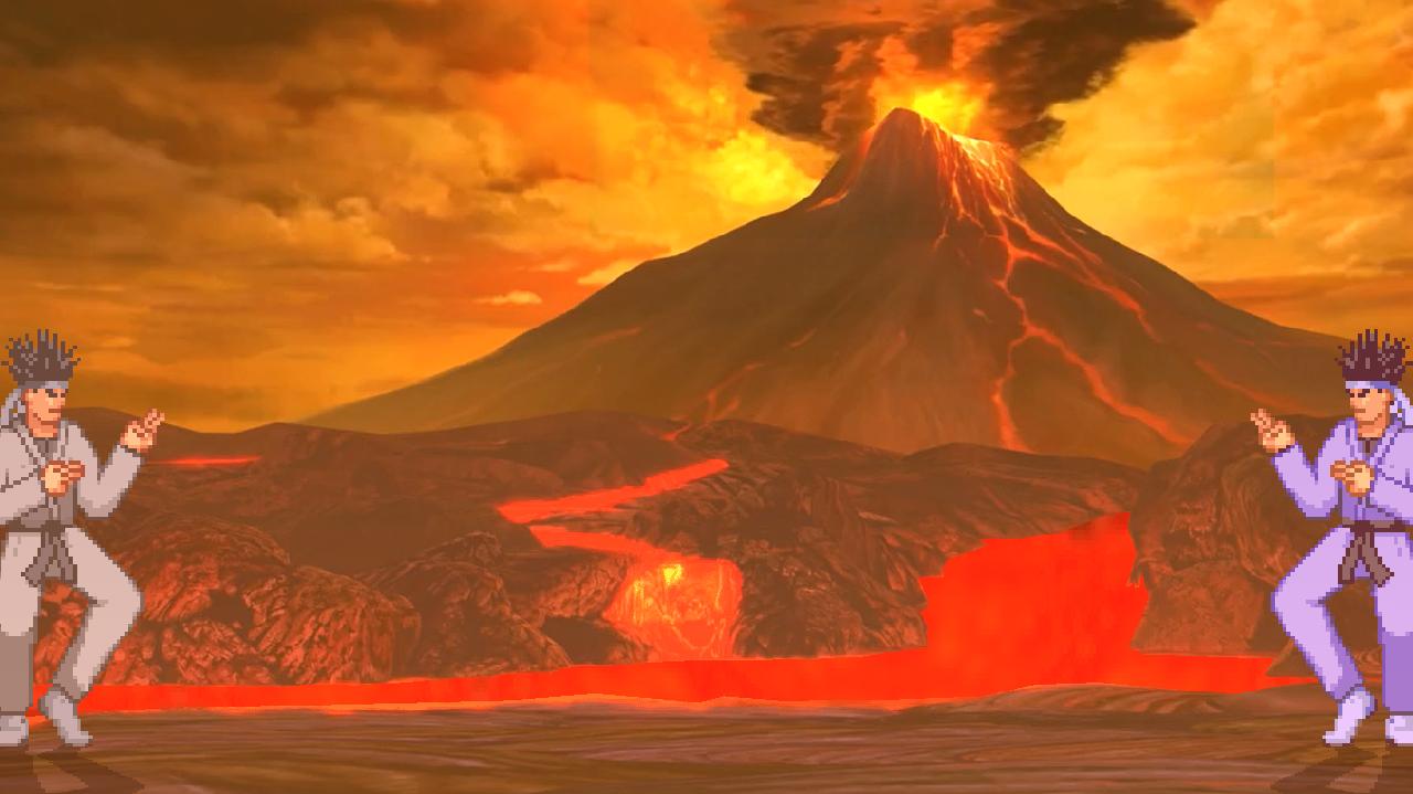 SFIV_Volcanic Rim 1.0/1.1  Mugen009