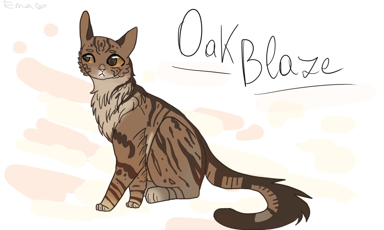 Bekijkt profiel - Oakkit, Oakblaze_Art_II