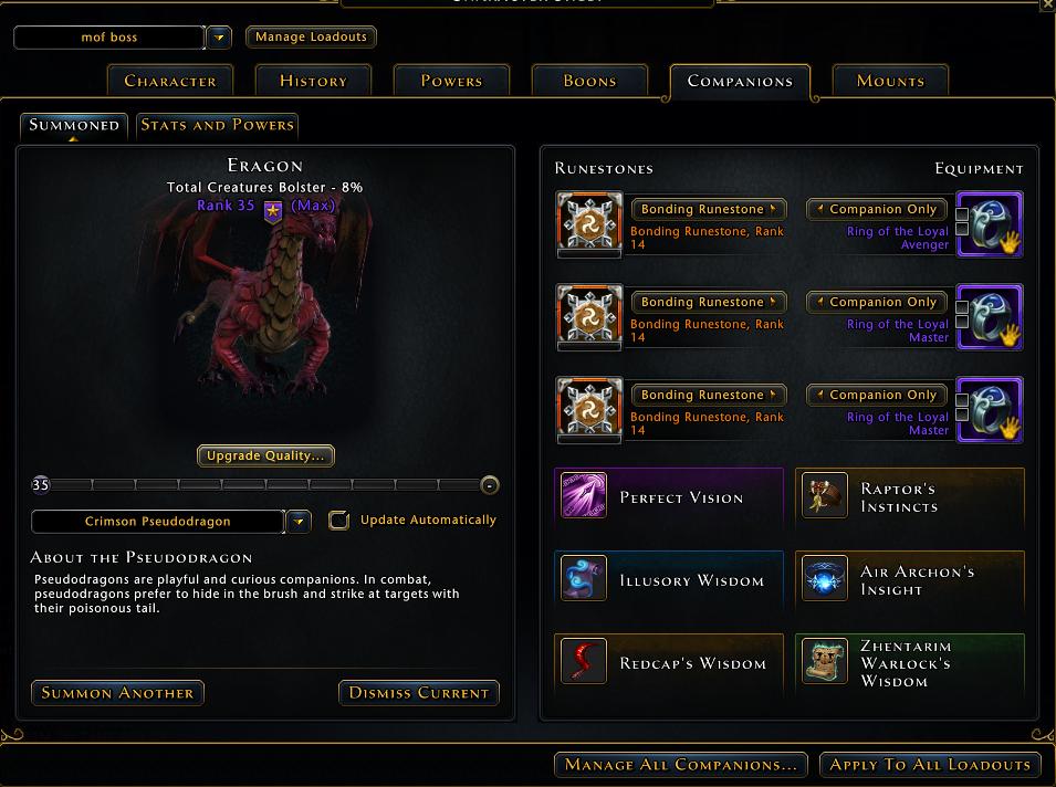 screenshot of new layout