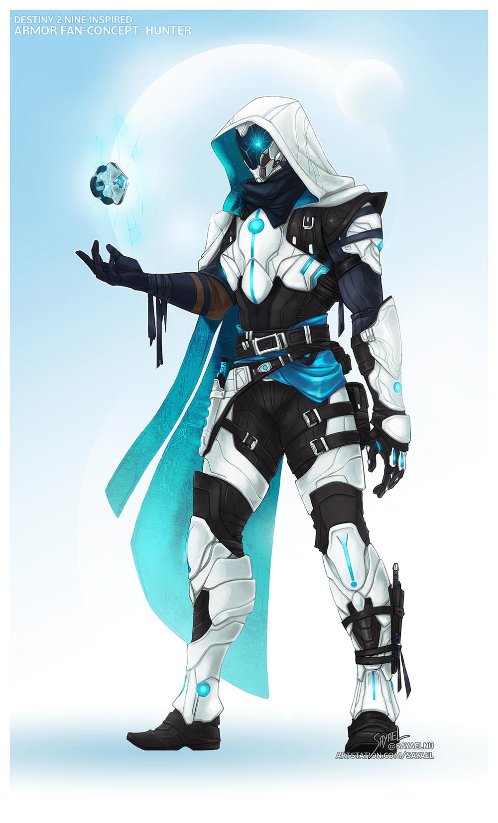 Eye of the Nine - Hunter Armor FanConcept