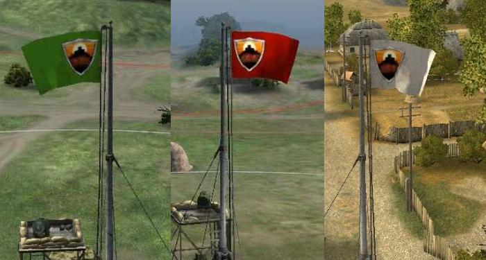 SBN clan base flags