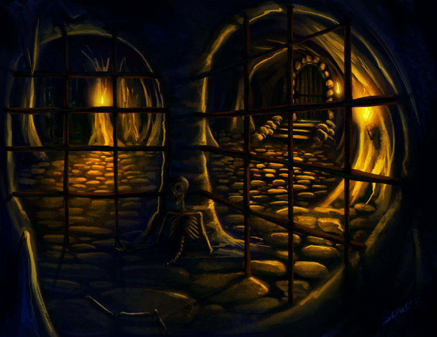 Rapport d'affaire à Olvia. [Juin/Juillet] Dungeon_by_stalcry-d5rppmy