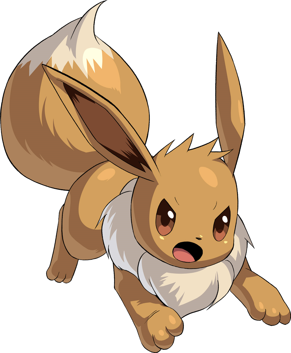 [Image: 133Eevee_Pokemon_Conquest.png]