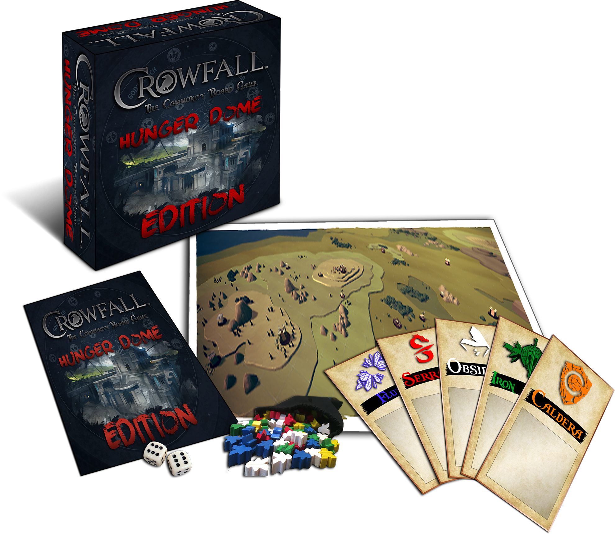 Crowfall_Board_Game_Hungerdome_Editions.