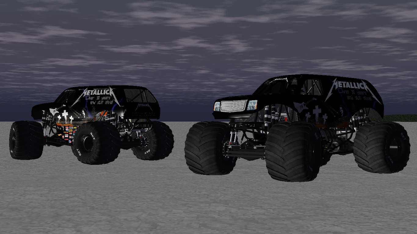 Screenshot for Metallica Monster Truck