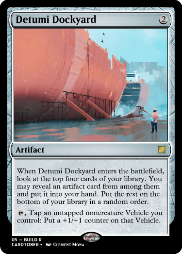 Detumi Dockyard