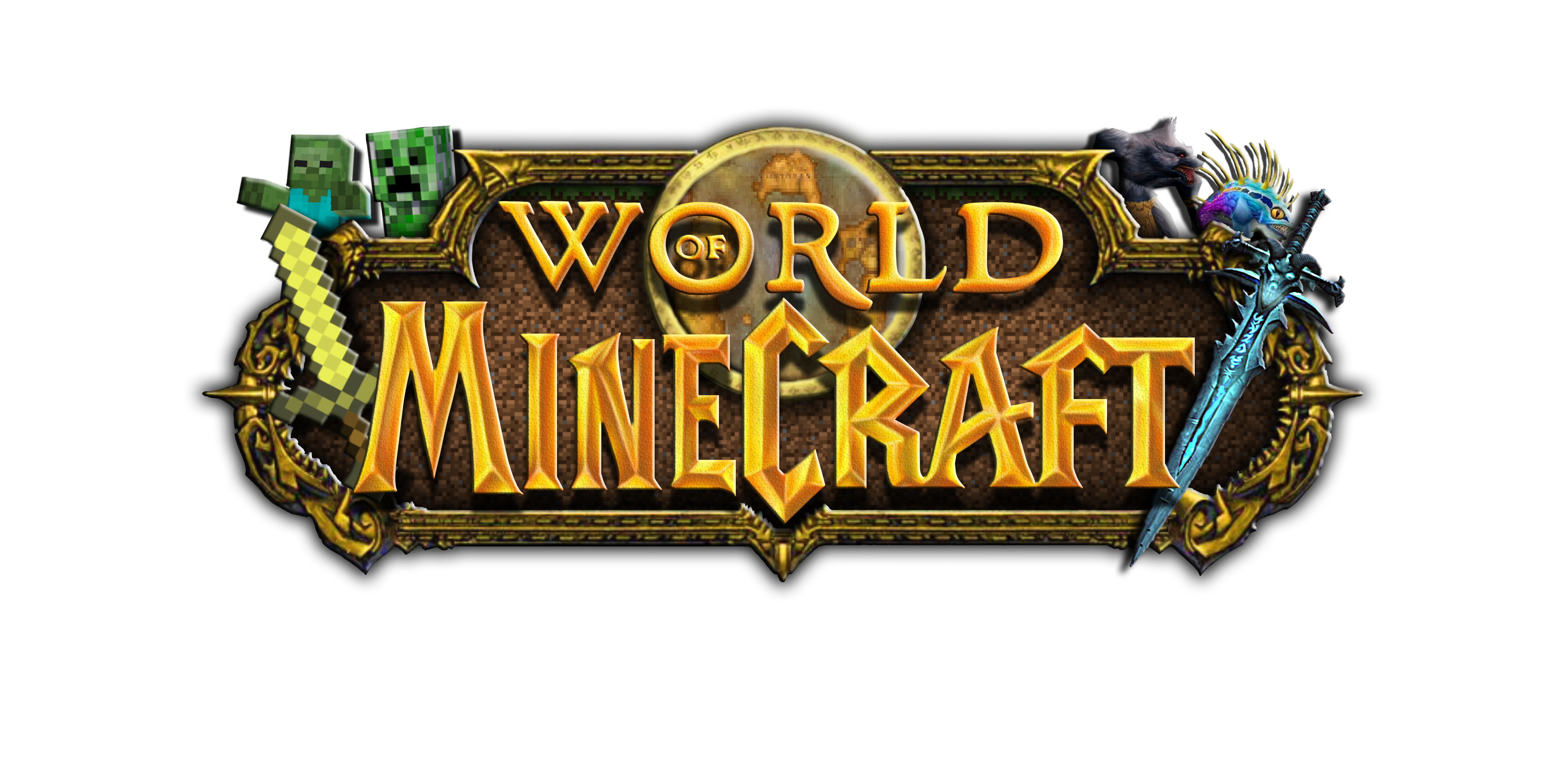 World of Minecraft Logo