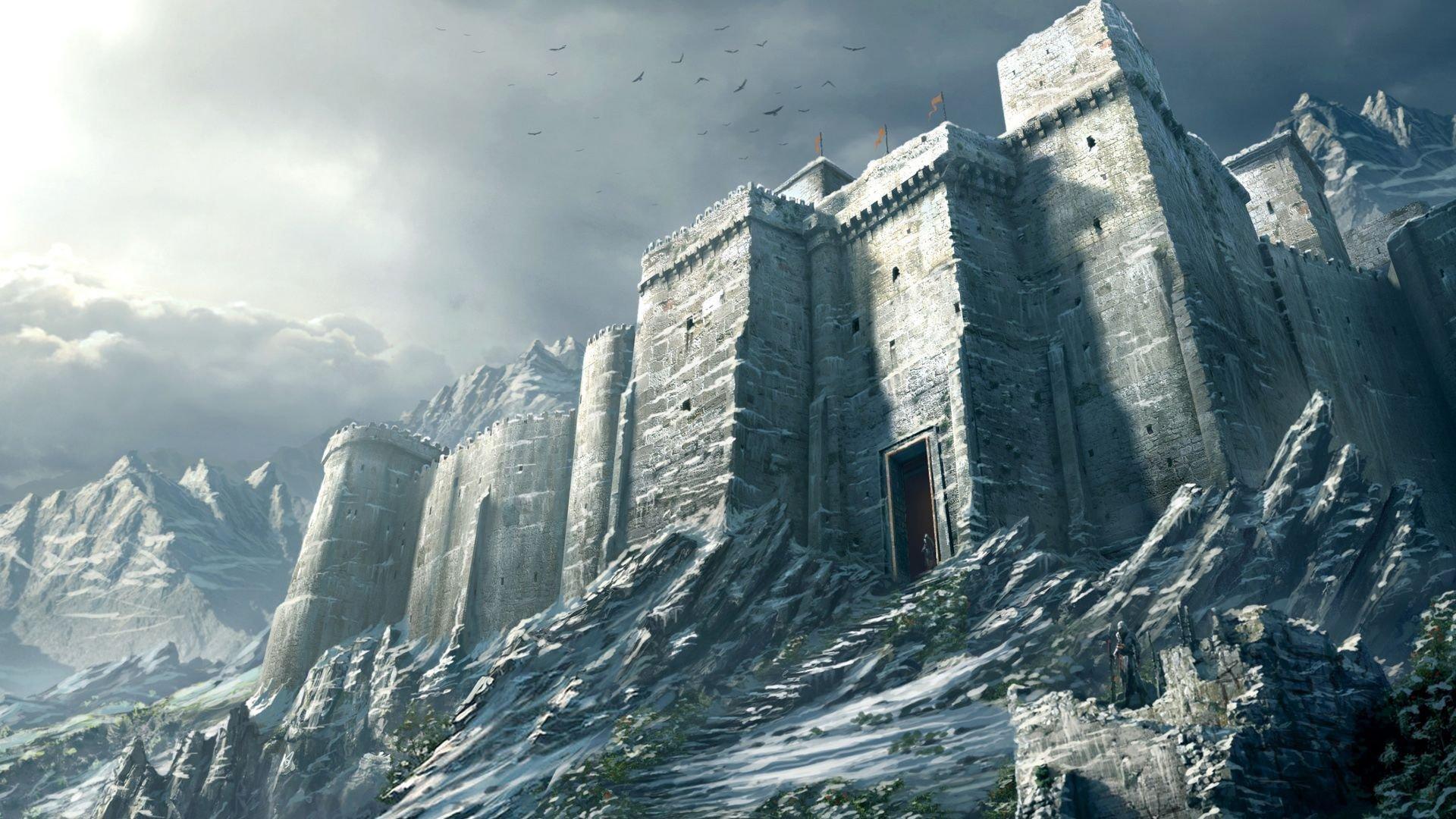 Description des lieux et monstres présents Masyaf-castle-assassin039s-creed