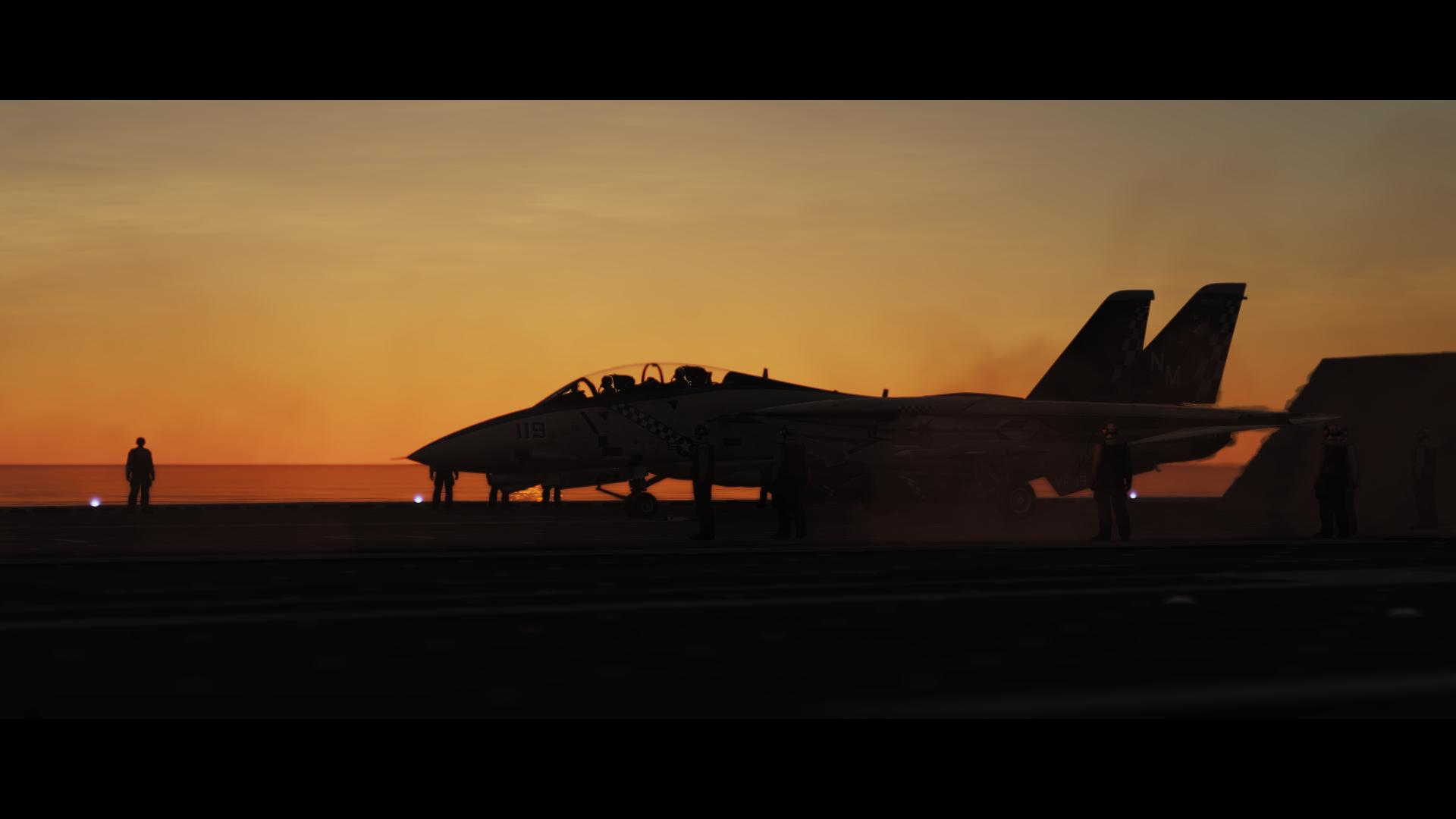 DCS: F-14 Tomcat Launch_1