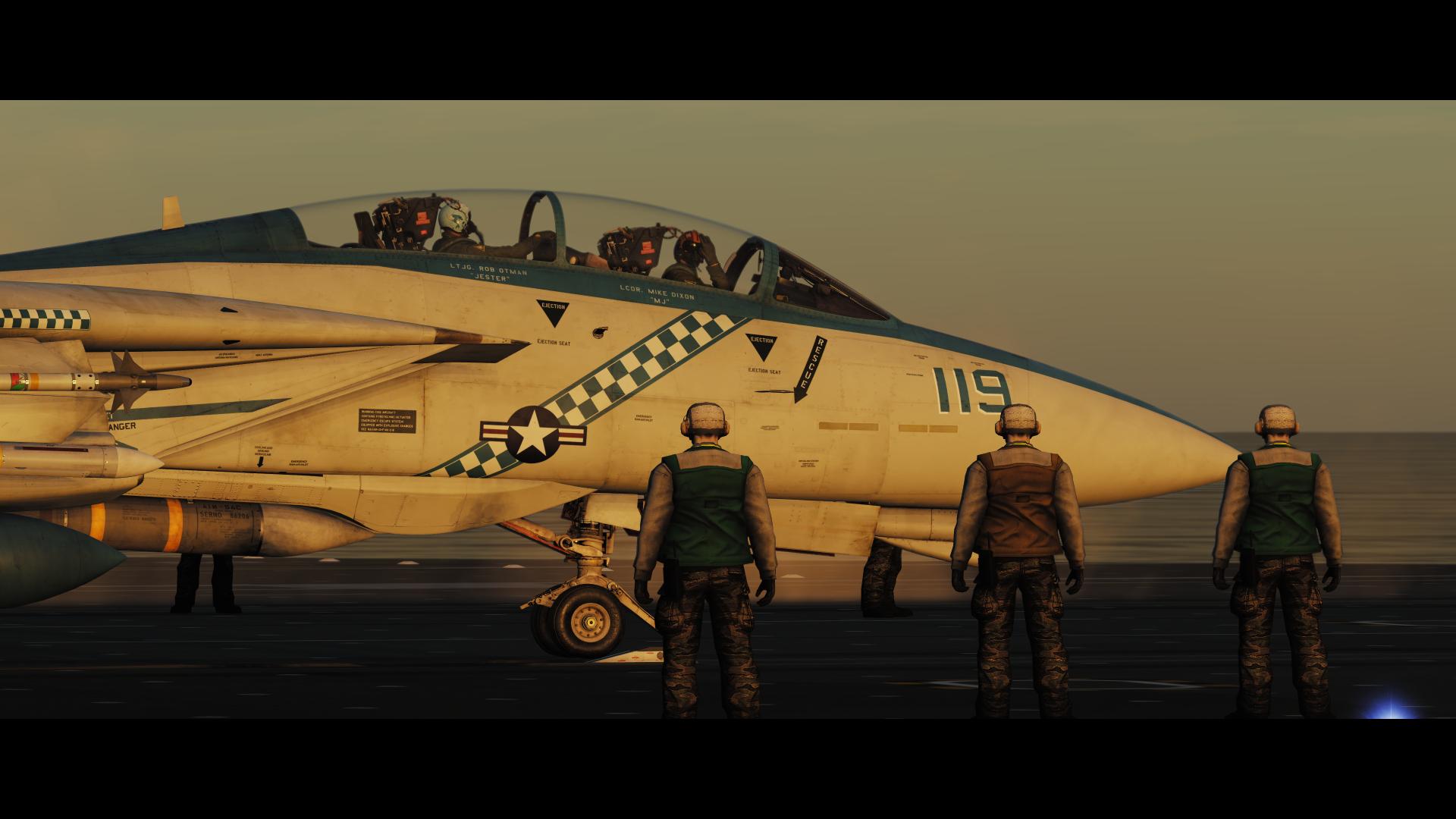 DCS: F-14 Tomcat Launch_2